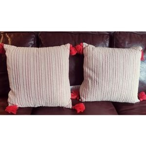 Pier One Throw Pillows - NEW!